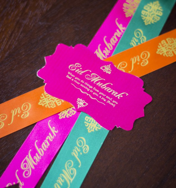 niQi {Eid} 2013: Ribbons & Gift Labels