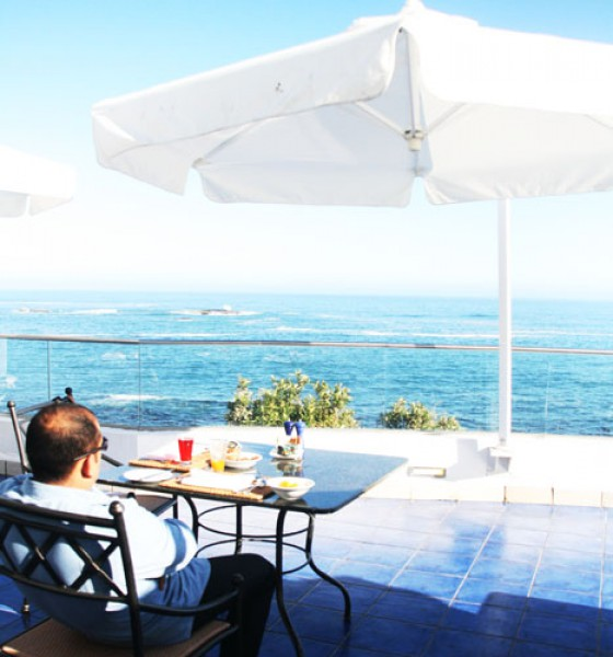 The Twelve Apostles Hotel and Spa   The best sunset in Cape Town.