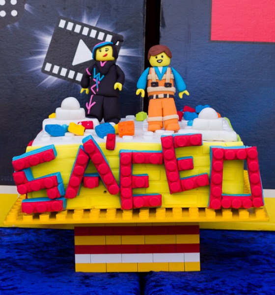 {A LEGO Party}: Master Builder Sa'eed is 5