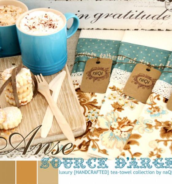 niQi luxury tea-towels :: {Anse Source D'Argent} collection