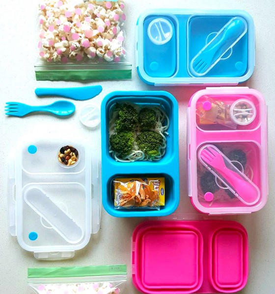 Lunchbox Inspiration: Using Different Lunch Boxes