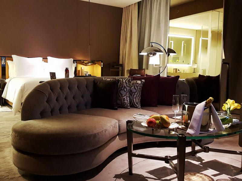 Checking in; Four Seasons Hotel DIFC Dubai